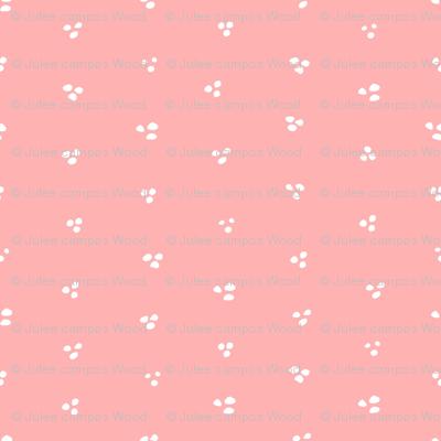 Connie Lynn—Pink Loose Dots