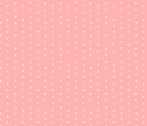 Connie Lynn—Pink Loose Dots fabric by jewelraider on Spoonflower - custom fabric