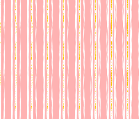 Connie Lynn—Pink Stripe fabric by jewelraider on Spoonflower - custom fabric