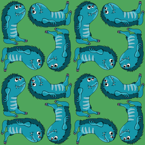 taggle fabric by woodledoo on Spoonflower - custom fabric