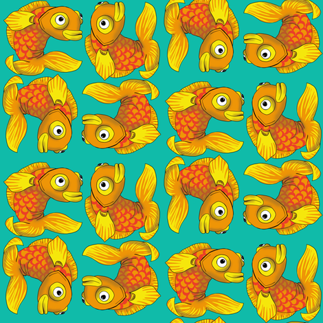 fiddle fabric by woodledoo on Spoonflower - custom fabric