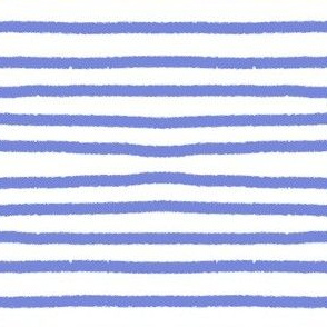 Sketchy Stripes // Periwinkle