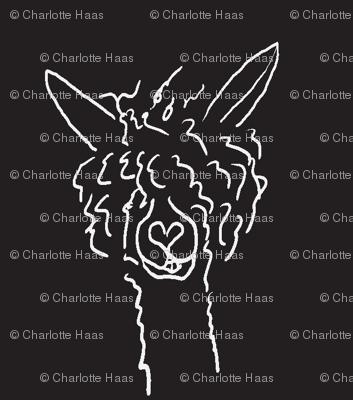 Chalkboard Alpaca