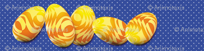 Sunshine Easter Eggs