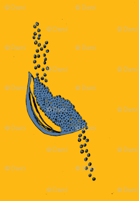 Seeds Gold and Blue
