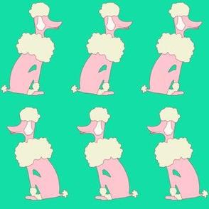 Oodles of Poodles on Astroturf