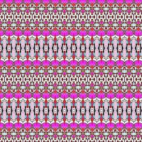 purple parlor stripes