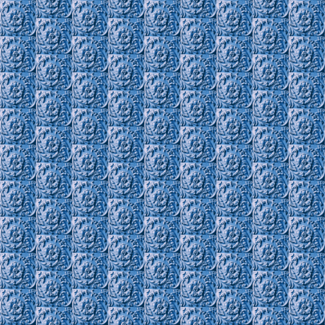 Roulade Blue fabric by amyvail on Spoonflower - custom fabric