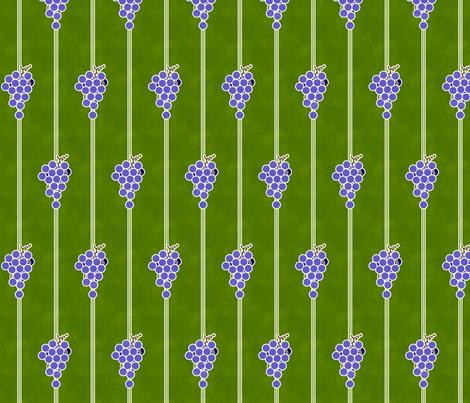 Grape Stripes fabric by siya on Spoonflower - custom fabric