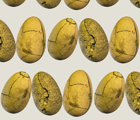 Cracked Stone Easter Eggs fabric by animotaxis on Spoonflower - custom fabric