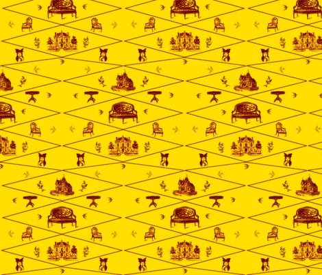 Golden Years fabric by ravynscache on Spoonflower - custom fabric