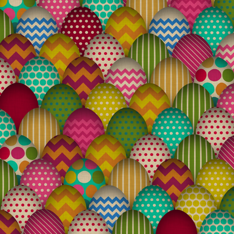 carnival de egg small fabric by scrummy on Spoonflower - custom fabric