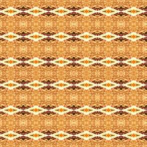 Brown orange and cream