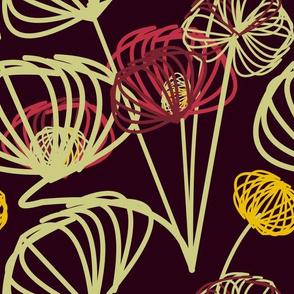 mixed emotions flora
