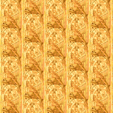 Venerable Bede fabric by amyvail on Spoonflower - custom fabric