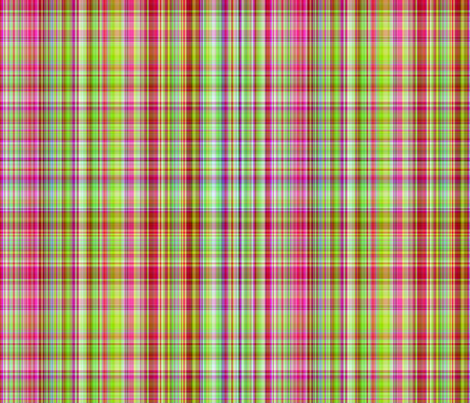 """Good Girl Plaid"" fabric by jeanfogelberg on Spoonflower - custom fabric"