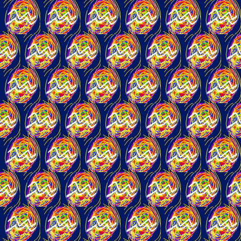 Shake,Rattle and Roll fabric by krussimages on Spoonflower - custom fabric