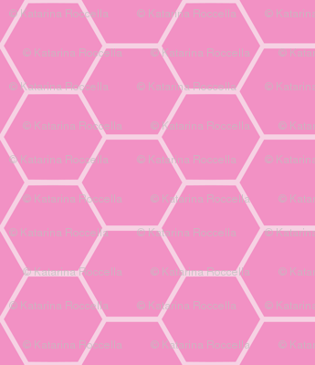honeycomb pink