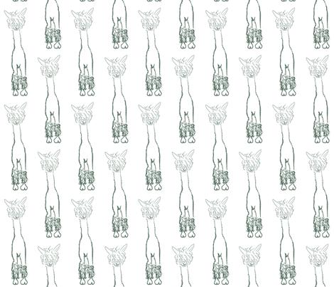 Alpacaluvline fabric by luvinewe on Spoonflower - custom fabric