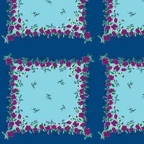 Blue Skies Grandma's Handkerchief