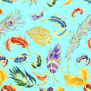 Feather Waltz by Susi Franco