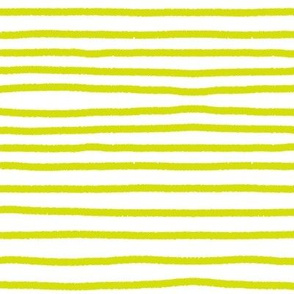 Sketchy Stripes // Chartreuse