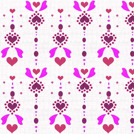 Heart Dangle Angel Wings - © PinkSodaPop 4ComputerHeaven.com fabric by pinksodapop on Spoonflower - custom fabric