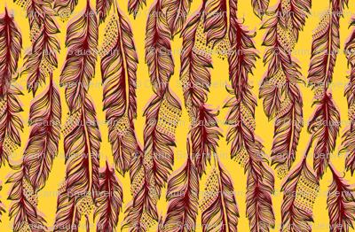 Feather Dash by Carin Sauerwein