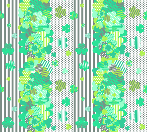 Shamrock Salsa fabric by veritymaddox on Spoonflower - custom fabric