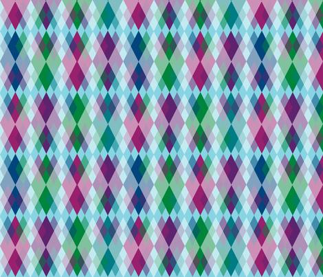 Blue Skies Argyle fabric by fentonslee on Spoonflower - custom fabric