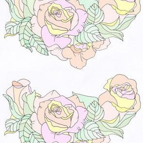 Roses Necklace Design