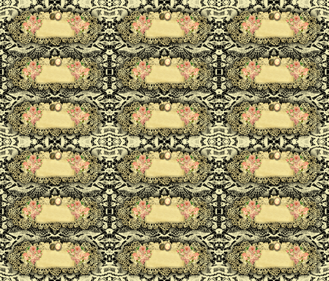 Victorian tags or closures. fabric by whimzwhirled on Spoonflower - custom fabric