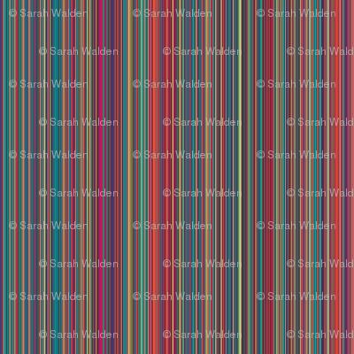 Fantastic Mini Stripe ~ Vertical