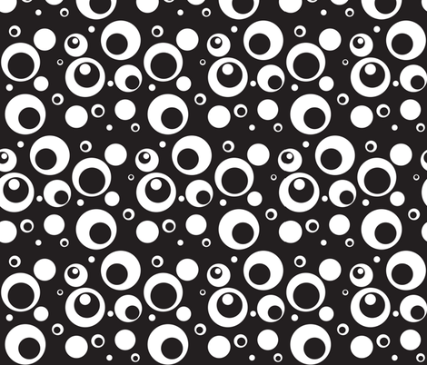 Circles and Dots SBK fabric by ripdntorn on Spoonflower - custom fabric