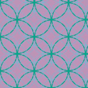 Encircled ~ Ozma, Sky Blue and Lavender