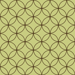 Encircled ~ Moss and Chocolate