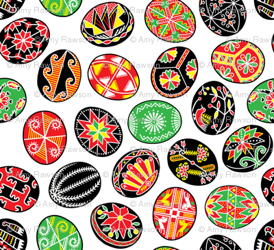 Traditional Pysanky (Painted Eggs)