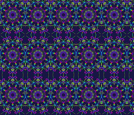 piggy Garden fabric by jellybeanquilter on Spoonflower - custom fabric