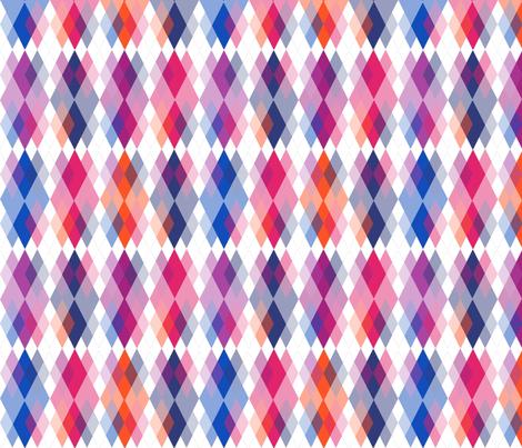 Bright Orion Nebula Argyle fabric by fentonslee on Spoonflower - custom fabric
