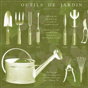 Outils de jardin: Olive