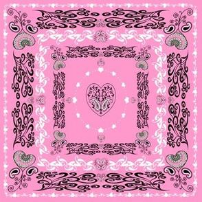 bandana - pink, small