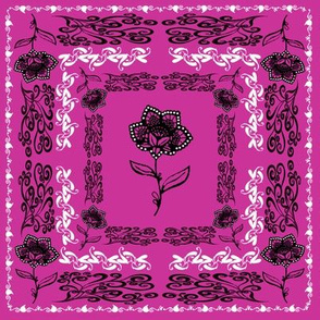 bandana - purple, small