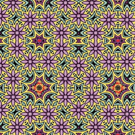 FLOWER PATCH fabric by kerryn on Spoonflower - custom fabric