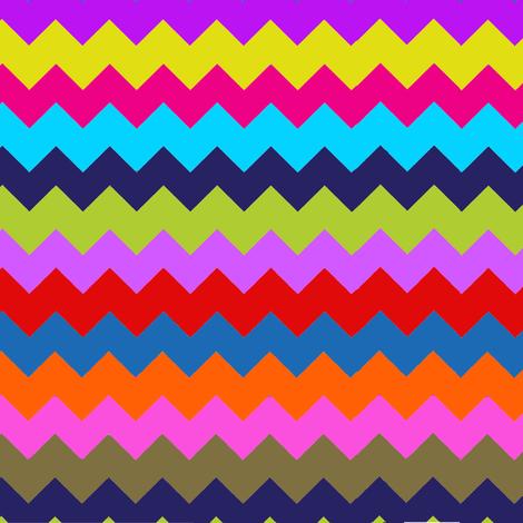 Chevron Multi Stripe Zig Zag Paris Bebe Fancy Party! fabric by parisbebe on Spoonflower - custom fabric