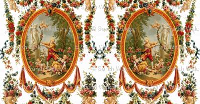 Rococo Swingers ~ Bright and White