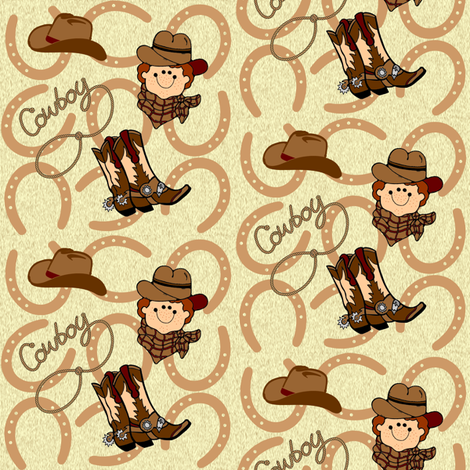 cowboy fabric by krs_expressions on Spoonflower - custom fabric