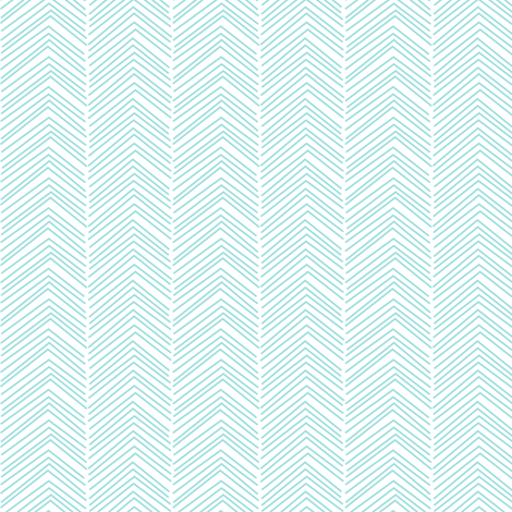 chevron love light teal fabric by misstiina on Spoonflower - custom fabric
