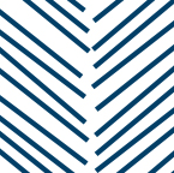 chevron love navy blue