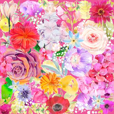 Summer Bouquet // Pink