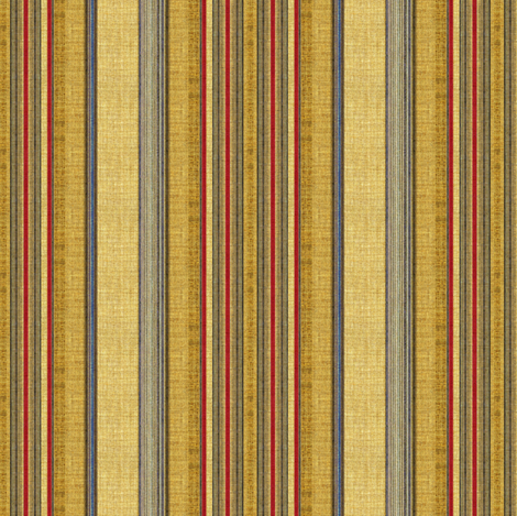 Patriot stripe linen in red, blue and tan fabric by joanmclemore on Spoonflower - custom fabric